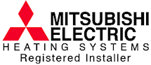 mitsubishi heating installer